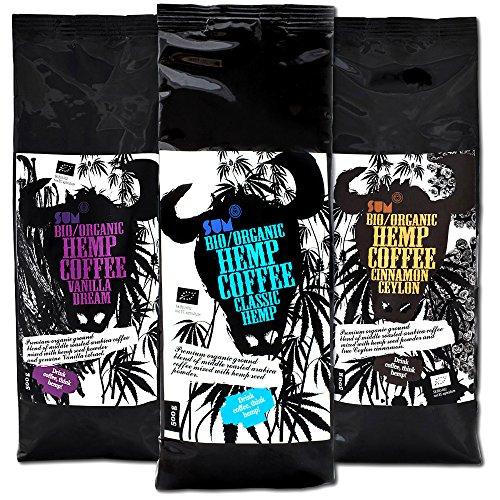 Hanfkaffee- Bio, vegan und glutenfrei- 500-g-Großpackung -