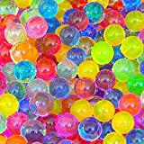2 Ounce Pack 60 Grams (Almost 4,000 ) Jelly Bead Z Water Bead Gel Bright Rainbow Mix