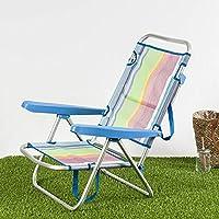 Habita Home Silla Baja para LA Playa 108x60x78/d22 Color 1 Diseño