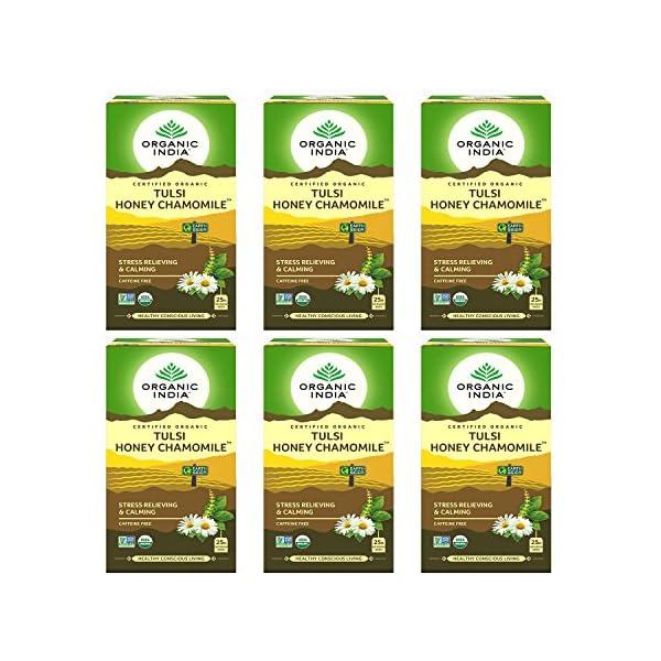 Organic-India-Tulsi-Honey-Chamomile-25-Tea-Bags-Pack-of-6