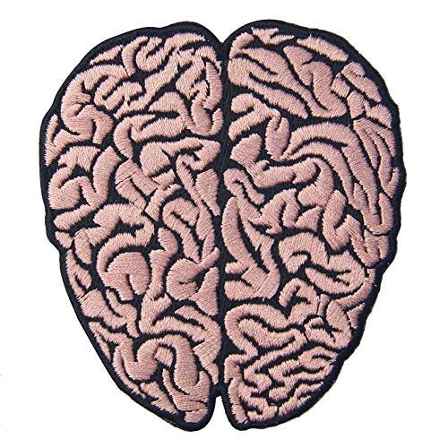 Parche bordado del cerebro