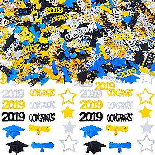 non-brand Baoblaze 30g Metallic Konfetti Streudeko Streuartikel Tischdeko mit Abschluss Themen