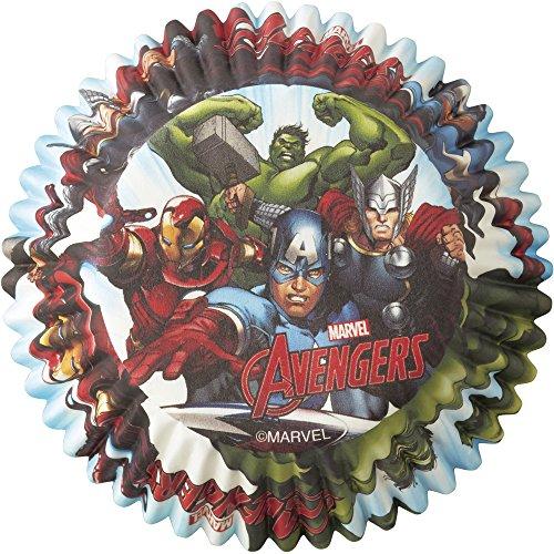 Wilton Marvel Avengers Backförmchen, mehrfarbig, 50 Stück