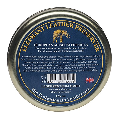 Elephant Leather Preserver Piel Para Cera, 125 ml