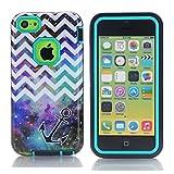 Best I Phone 6 Case Anchor - iPhone 6 Case MOUKOU(TM) Unique 3in1 Chevron Review