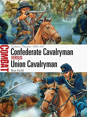 Confederate Cavalryman vs Union Cavalryman: Eastern Theater 1861–65 (Combat) por Ron Field
