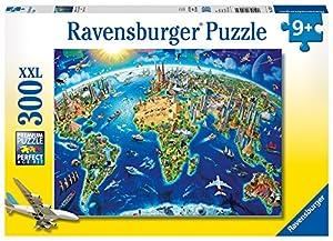 Ravensburger Puzzle Los monumentos más hermosos del mundo XXL, 300 piezas (13227)
