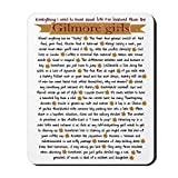 Gilmore Girls Life Lessons Non-Slip Rubber Mousepad, Gaming Mouse Pad