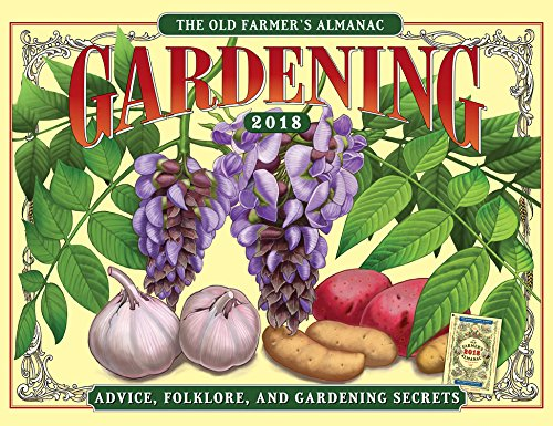 The Old Farmer's Almanac Gardening 2018 Calendar