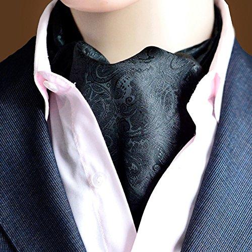 LIANGJUN Elegant Männer Krawattenschal Seide Krawatte Aus Baumwolle Krawattenschal Formelle Anlässe Hochzeit Büro Hemd, 118X16cm, 12 Arten Verfügbar ( Farbe : 9# ) (Seide Baumwolle Farbige Schal)