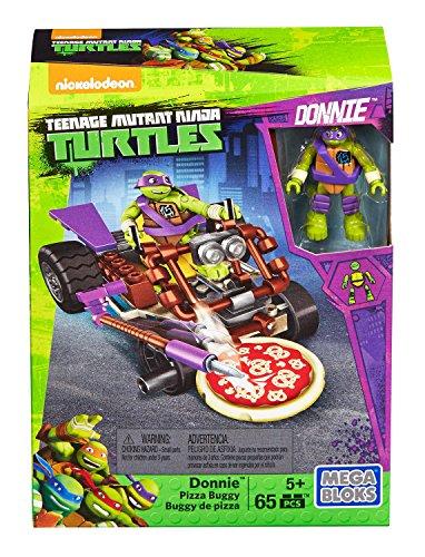 Mega Bloks - Teenage Mutant Ninja Turtles Figure with Vehicle (Dmx37)