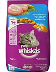 Whiskas Adult Cat Food Pocket Ocean Fish, 7 kg