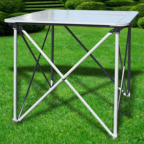 Preisvergleich Produktbild Generic YC-AMD2-151126-74 r Tischh Falttisch Falttisch Aluminium Campingtisch Gartentisch Klapptisch Klappbar Tisch Aluminium C