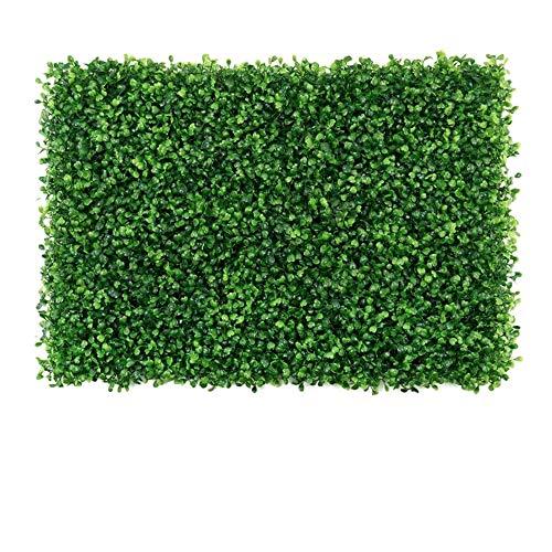 artificial turf Impianto di Simulazione, pianta Verde, Prato Finto, Muro di Fondo, Decorazione plastica della Parete, Interno/Soggiorno / Esterno inverdimento (Stile:F)