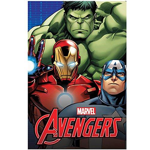 Avengers Plaid Dim. 100 x 150 cm Hiver 2018