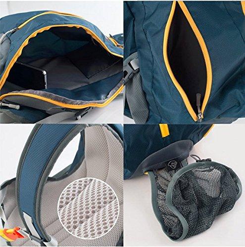 Star Home 15L Outdoor Rucksack Klettern Rucksack Sport Tasche Camping Rucksack Dunkelblau