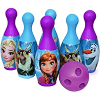 Vihana Enterprise Bowling Game Set for Kids with 6 Pin 1 Ball Sport Toys Gift for Baby Boys Girls Age 3 4 5 6 Years Old…