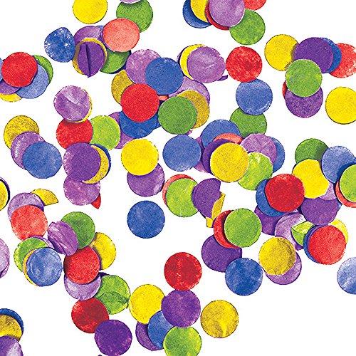 Creative Converting 32964512Stück Seidenpapier Konfetti Dots, multicolor