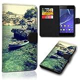 Book Style Alcatel One Touch Go Play 7048X Tasche Flip Brieftasche Handy Hülle Kartenfächer für Alcatel One Touch Go Play 7048X - Design Flip SVH27