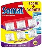 Somat Limpia Máquinas Lavavajillas - 3 Dosis + 3 Gratis