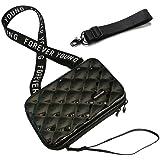 Handy Umhängetasche - Mode Damen Schultertasche Klein Geldbörse Crossbody Handtasche - Hart ABS+pc Kofferform mit Verstellbar