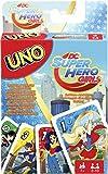 Mattel Spiele fdj16–Uno DC Super Hero Girls, Mazzi Di Carte Da Gioco