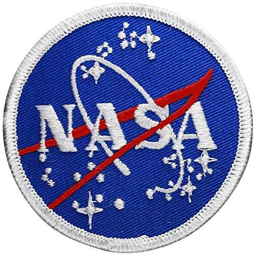 PATCH,TOPPA RICAMATA TERMOADESIVA ,,NASA Meatball 7,5cm,, (Nasa Patch)