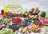 Küchenkalender 2019 - Rezeptkalender, Fotokalender, Wandkalender  -  42 x 29,7 cm