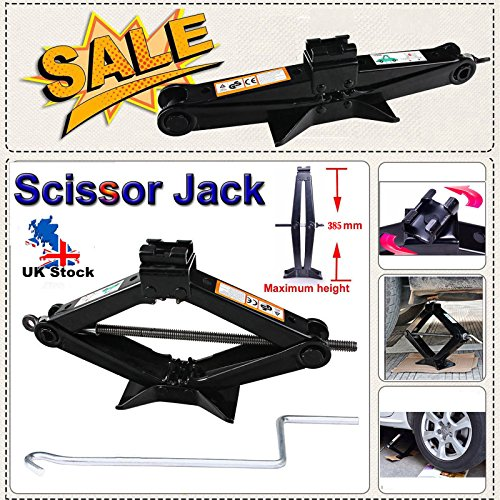Scissor jack Withh Speed Handle Lift 2 tonnellata per Van Car Truck garage Home emergency