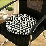 Almohadas redondas para sofá Saihui, para interior y