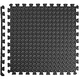 TecTake 12 x Bodenschutz Matte Schutzmatten Set Fitness Unterlegmatte EVA-Schaum | Maße pro Matte: ca. 63×63 cm - 6