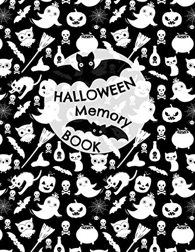 Halloween Memory Book: Cute Journal to Keep Photos and Stories From Each Year in One Place with Space for Pictures and Lined Pages for Writing