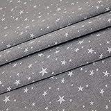 HIGGS Chambray–Sterne–Weiß auf Mid