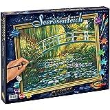 Schipper 609130620 - Malen nach Zahlen - Seerosenteich nach Claude Monet