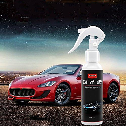 Lembeauty Auto Beschichtung Agent wasserabweisend Oxidation beständig Liquid Kfz Beschichtung Liquid Lack Schutz erhöhen Glanz und Glanz, 120ml -