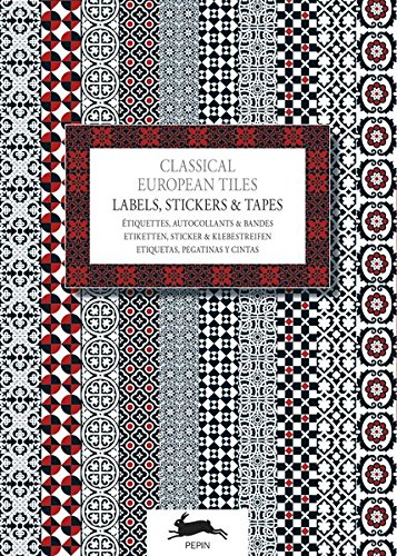 Classical European Tiles: Label & Sticker Book por Pepin Van Roojen