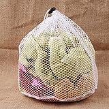 Lovelysunshiny Wäsche-Maschentaschen Drawstring-Netz-Wäsche-Sparer-Haushaltsreinigungs-Werkzeuge