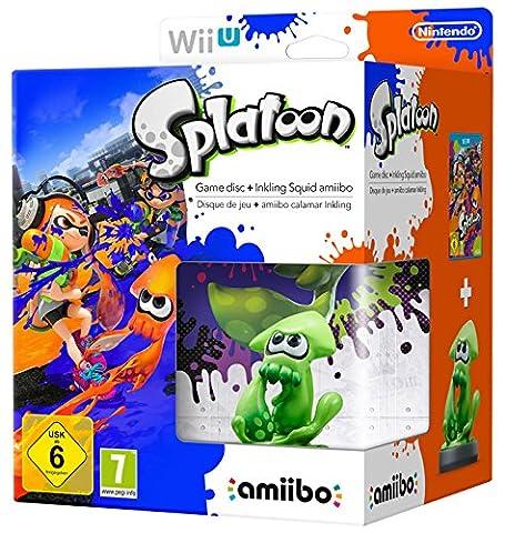 Nintendo Wii U: Splatoon + Amiibo Calamaro Inkling [Bundle Limited]
