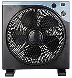 Bodenventilator Ø33cm 40 Watt | Tischventilator | Standventilator | Ventilator | Windmaschine | Power Windmaschine | Oszillierend | 3 Geschwindigkeitsstufen |