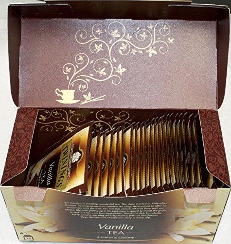 Twinings of London Vanilla 3 x 25 Teebeutel Aromatisierter Schwarztee