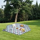 220*220cm Hexagon Picnic Garden Mat Blanket Rug for Camping Outdoor Using