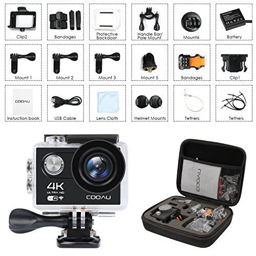ACTION CAMERA (Black?4K 12MP?)