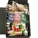 Süßes Geschenkset Dolce Deluxe mit exklusiven italienischen Süßwaren in einer schwarzen Geschenkbox