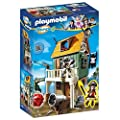 Playmobil - 4796 - Super4 - Fort Des Pirates Camouflé Avec Ruby