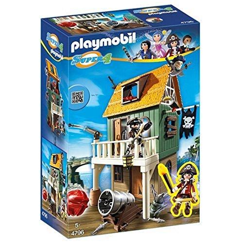 Playmobil - Fuerte de Pirata camuflado con Ruby