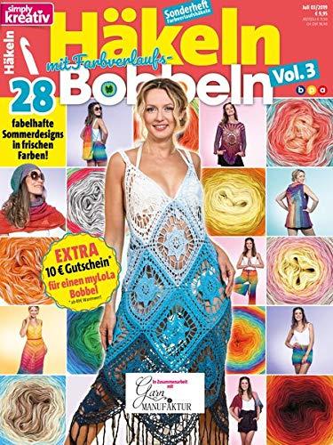 simply kreativ - Häkeln mit Farbverlaufs-Bobbeln Vol. 3: 28 fabelhafte Sommerdesigns in frischen Farben par Oliver Buss