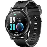 ELEPHONE Reloj Inteligente, Smartwatch Hombre de IP67 360x360PX Rastreador de Actividad Impermeable, Monitor de Frecuencia Ca