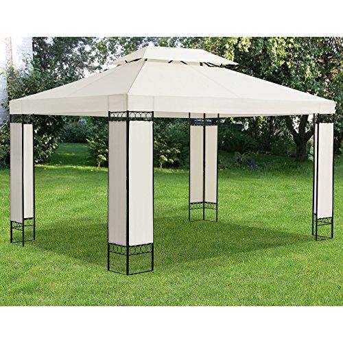 ArtLife Pavillon Gartenzelt Capri 3 x 4 m in Creme