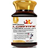 MOUNTAINOR L-Carnitine L-Tartrate 2000mg/Serving Plant Based (90 Veg Caps)Supplement. Helps Convert Fats to Muscles- Energy,