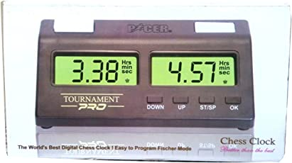 Unik Pacer Tournament Pro Digital Chess Clock (UNIKRF015)